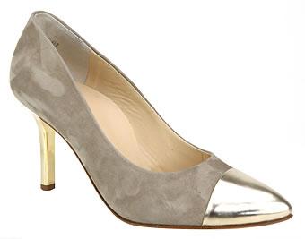 Chaussures de mariée couleur or